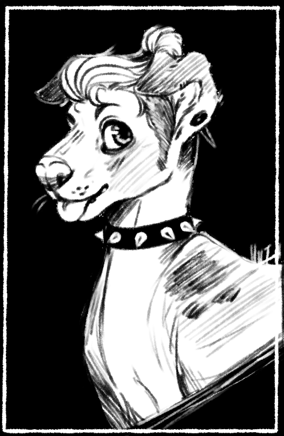 Stylish Pup (2016 Artfight)