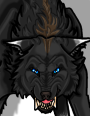 Werewolf commission for Shralen
