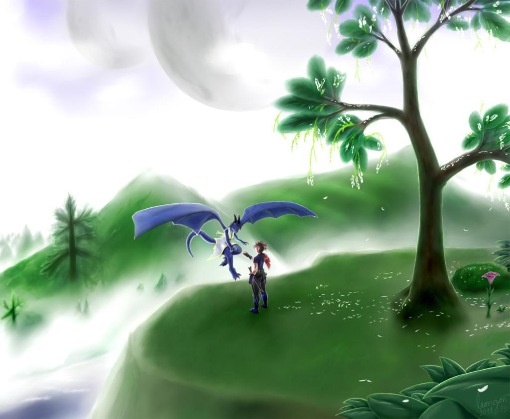 Datura, homeworld of dragons