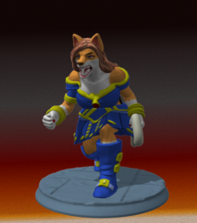 [S.C.A.M.] Super Collie 3D miniature #3