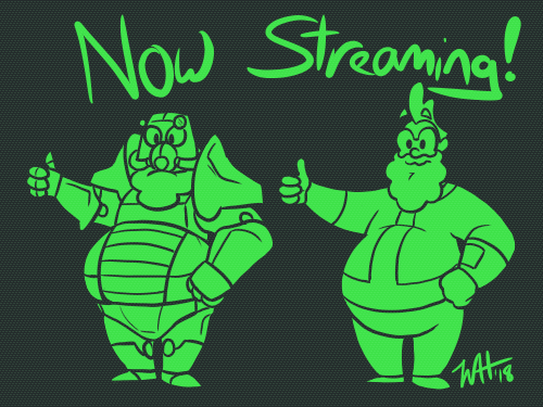 Now Streaming