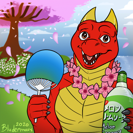 Most recent image: [Commission] - Spring Dragon