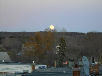 RARE Christmas moon