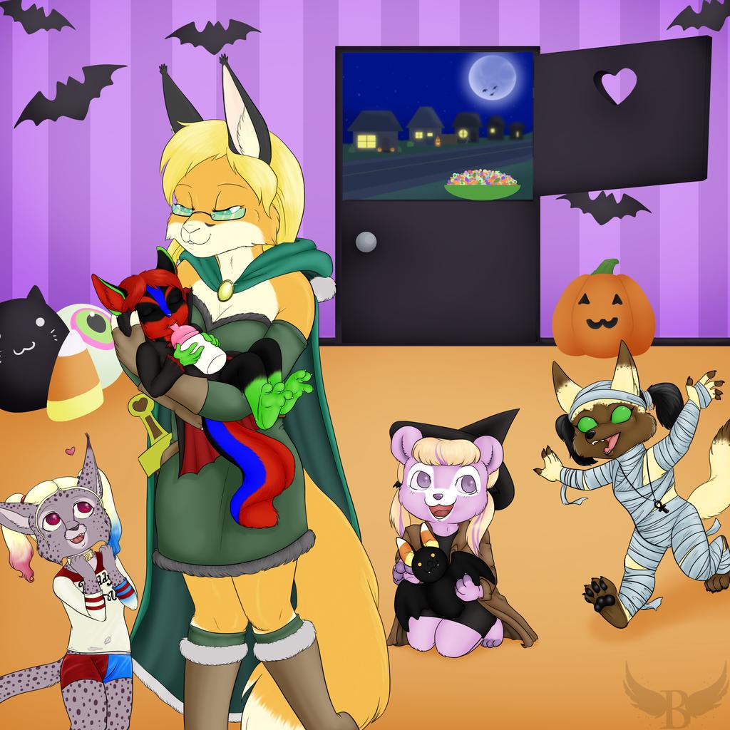 Jen's Halloween Daycare