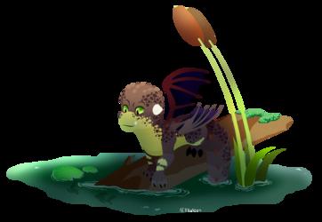 Spyro: Baby Dragon Cyprin