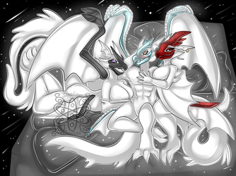 Kusokami M'haewa & Nashira +Full Shaded Commission+