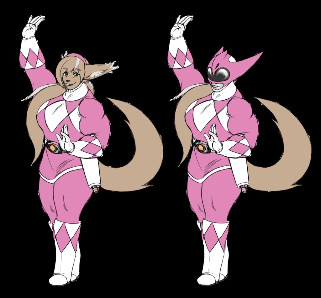 Pink Basitin Ranger
