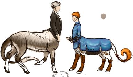 Centaur AU concepts