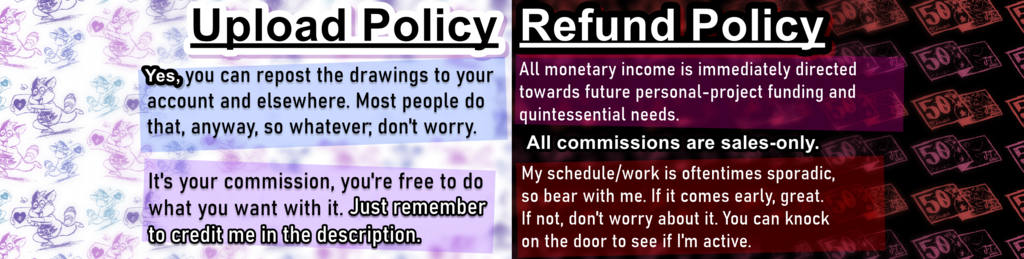 Commission Policies