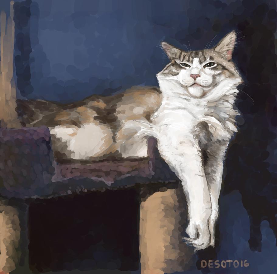 Pet Portrait: Baldr