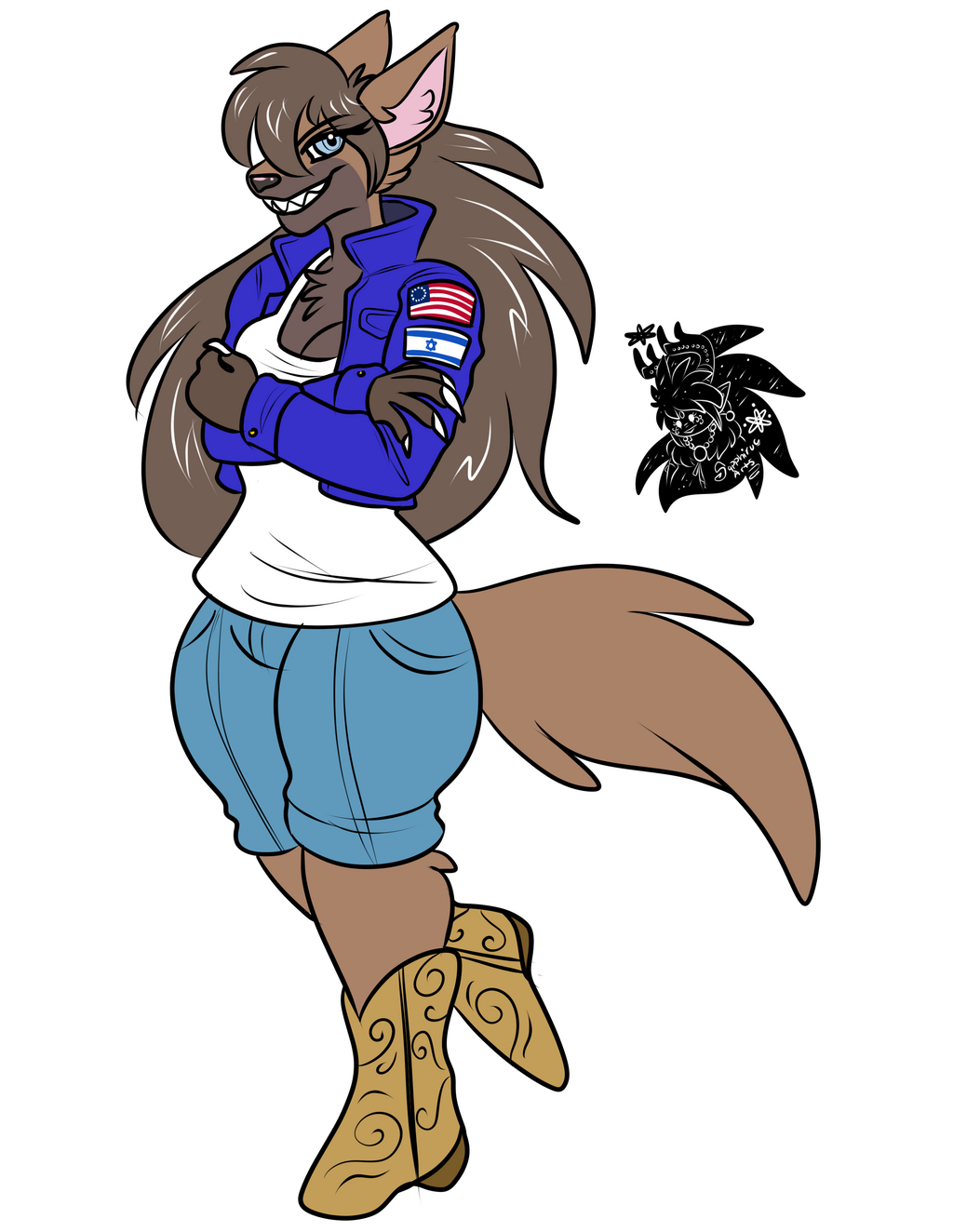 Tayler +Flatcolored Commission+
