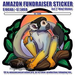 Amazon Funsraiser Sticker