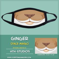 Ginger Face Mask by HTH Studios
