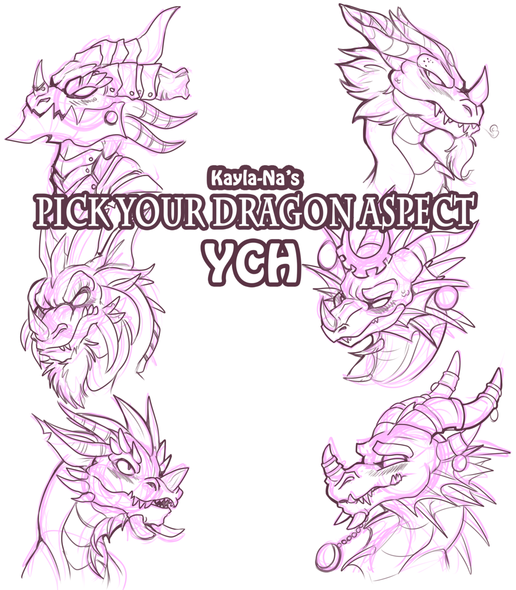 New YCH - Pick Your Dragon Aspect!