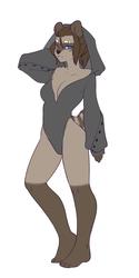 [P] Hoodie Bodysuit