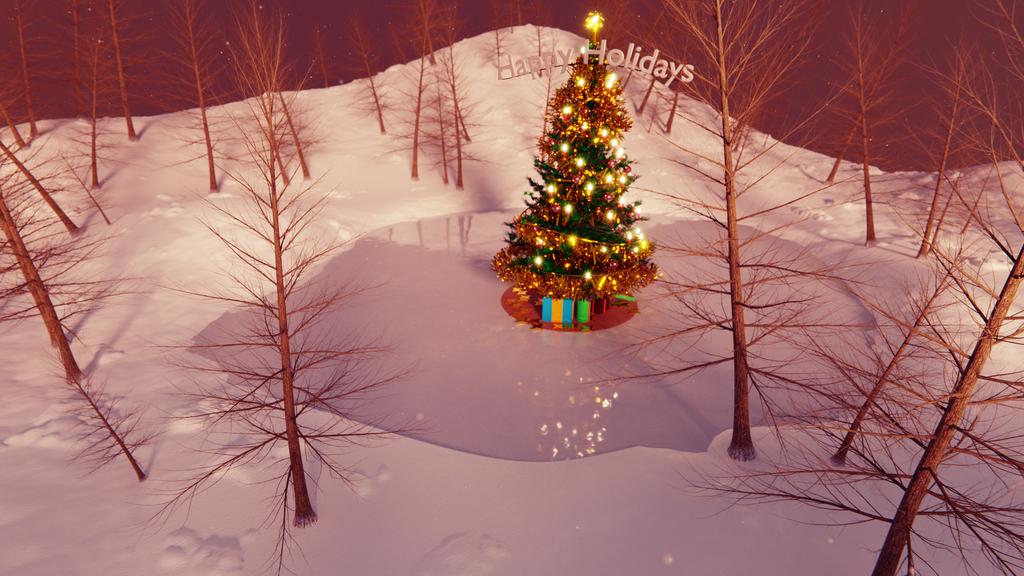 Vorry Christmas! - Landscape