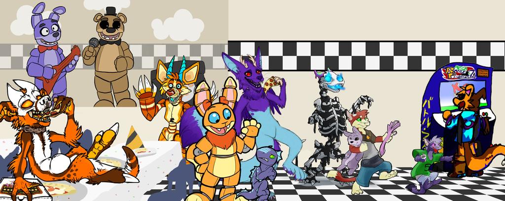 Monster Mash 2014: Midnight at Freddy's!