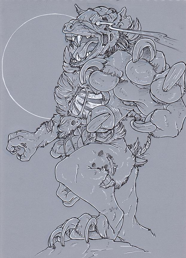 Raffle Prize - Hyenatooth_