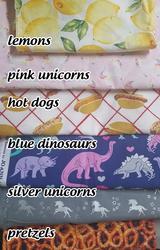 New bandanna fabrics!