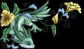 Onishidan flower pixel