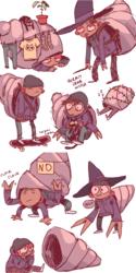 hermit crab witch