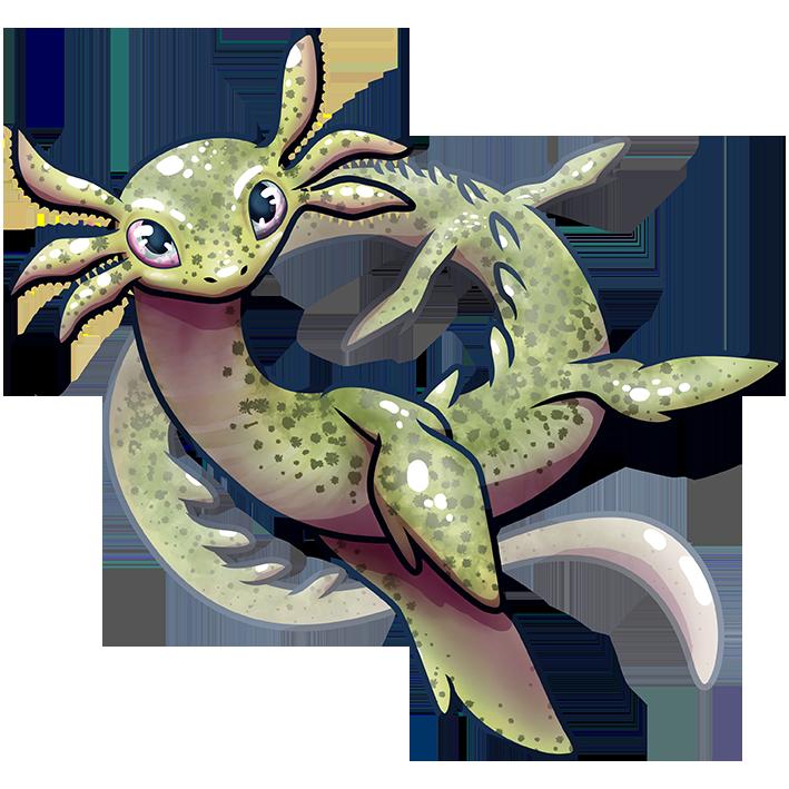 Marsh axolot dragon