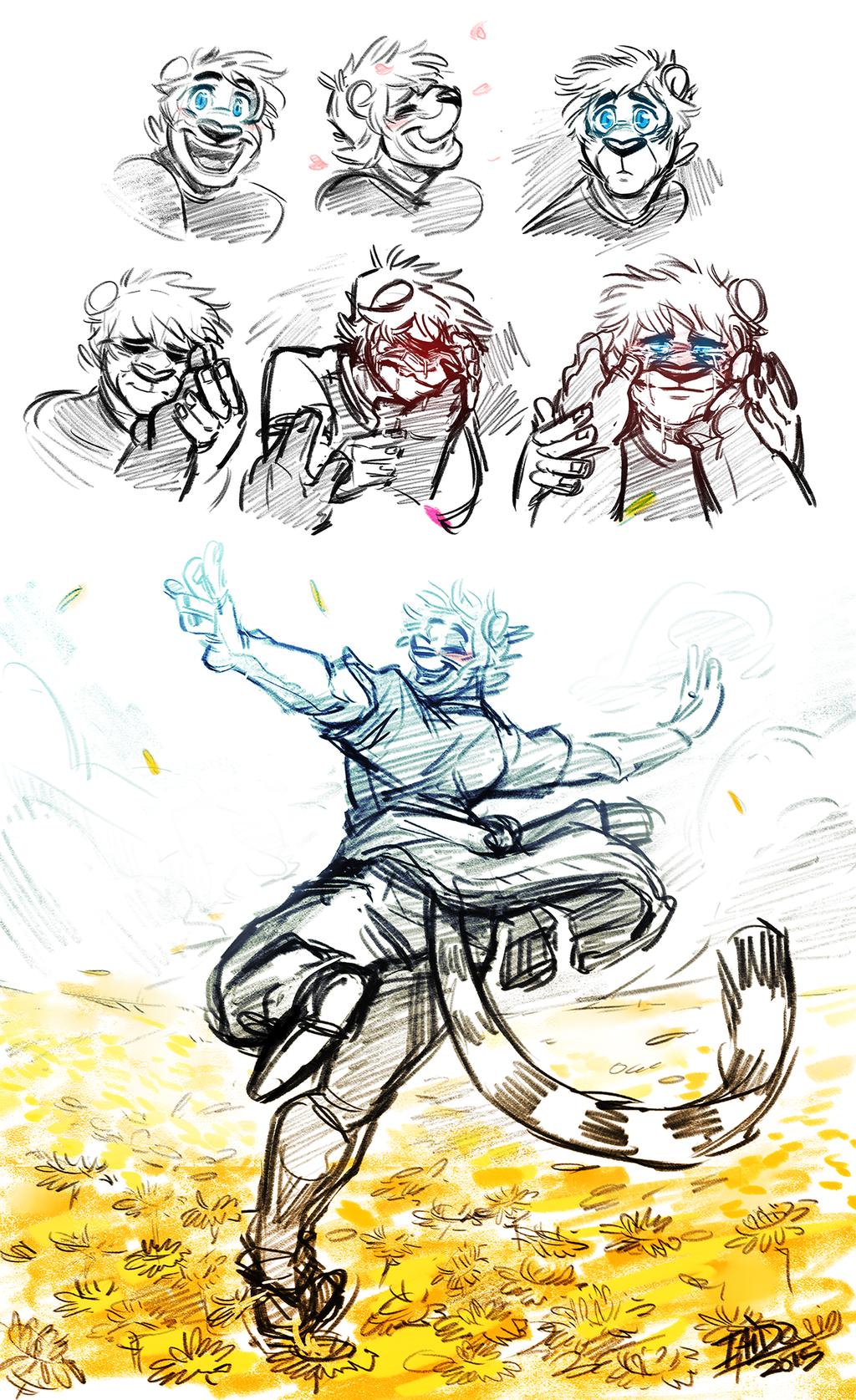 Doodle Dump 06 - Sunshine Emotion
