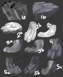 Fursona Model Progress - Foot Revisou