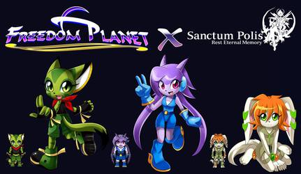 Freedom Planet X Sanctum Polis