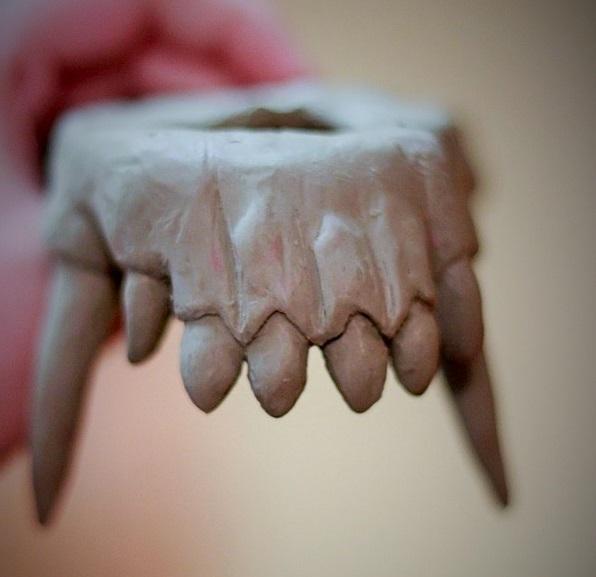 Werewolf teeth WIP — Weasyl