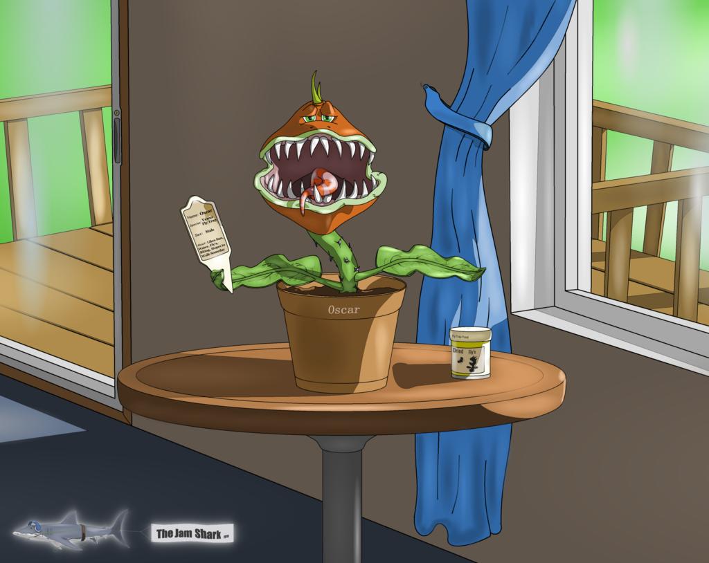 The Jam Shark - Oscar The Flytrap