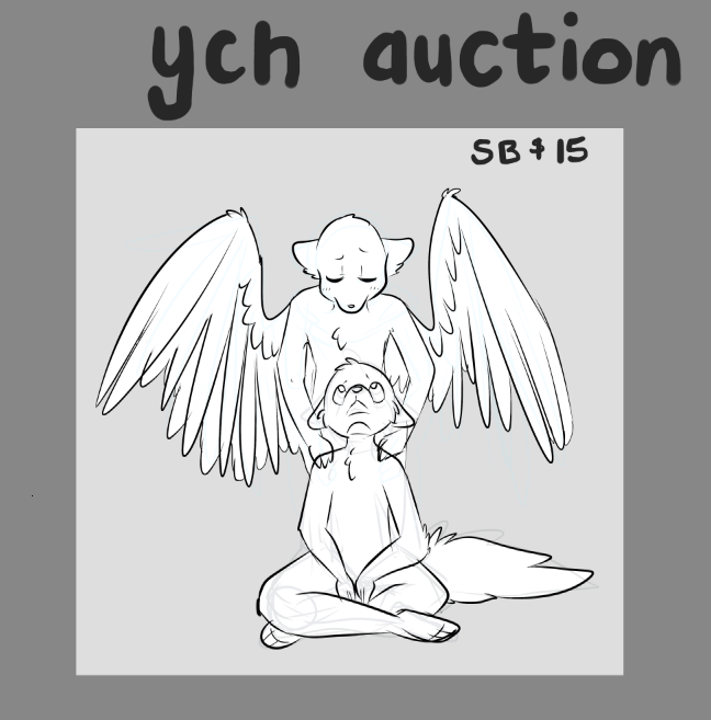 YCH - Always Watching Over You