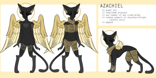 azachiel | main fursona ref