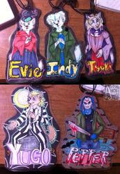 Halloween Bookmark Set for Evie