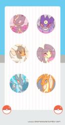Mega Evolution Buttons