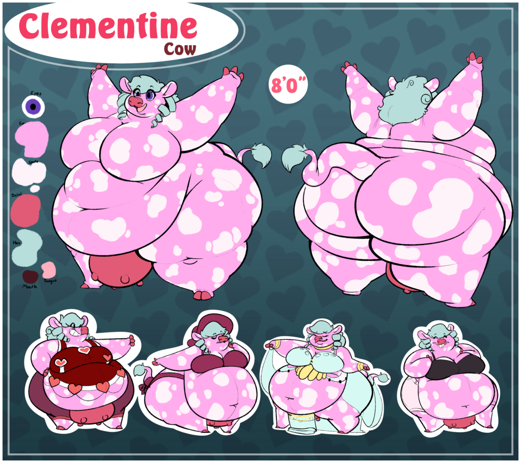 Clementine Cow REF [by walkitalki