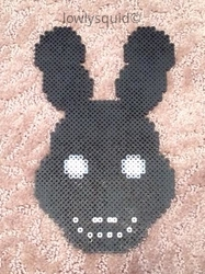 Shadow Bonnie Bead Badge