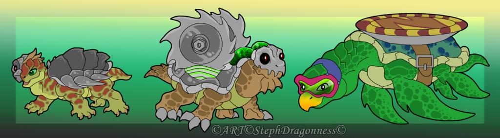 Crash Enemies - Turtles / Tortoise