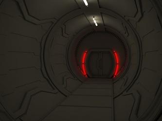 Sci-fi Tunnel WIP