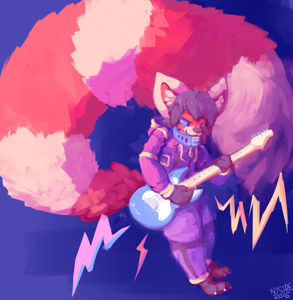 Rockin' Panda [Art by Nystre]