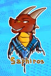 Badge - Saphiros