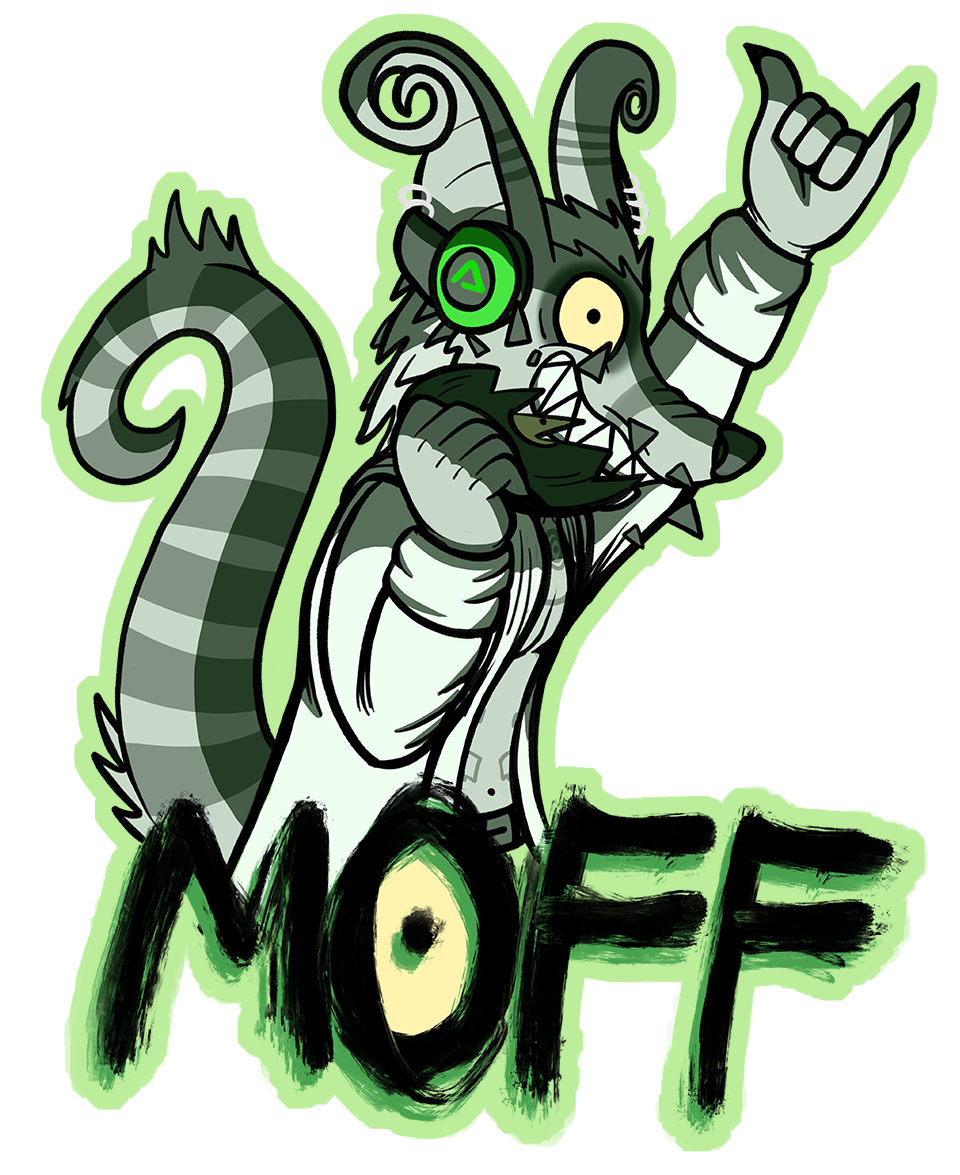 Badge commission for Moff!