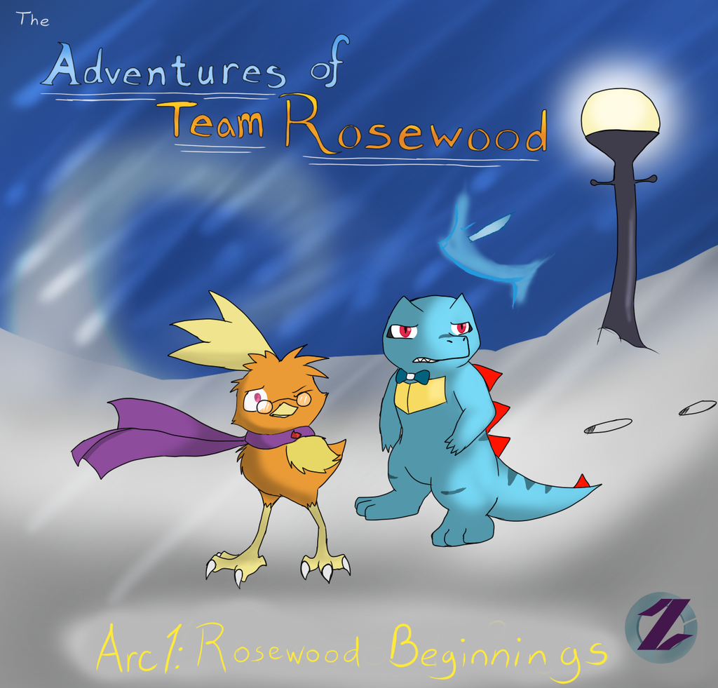 The Adventures of Team Rosewood: Arc 1 Cover