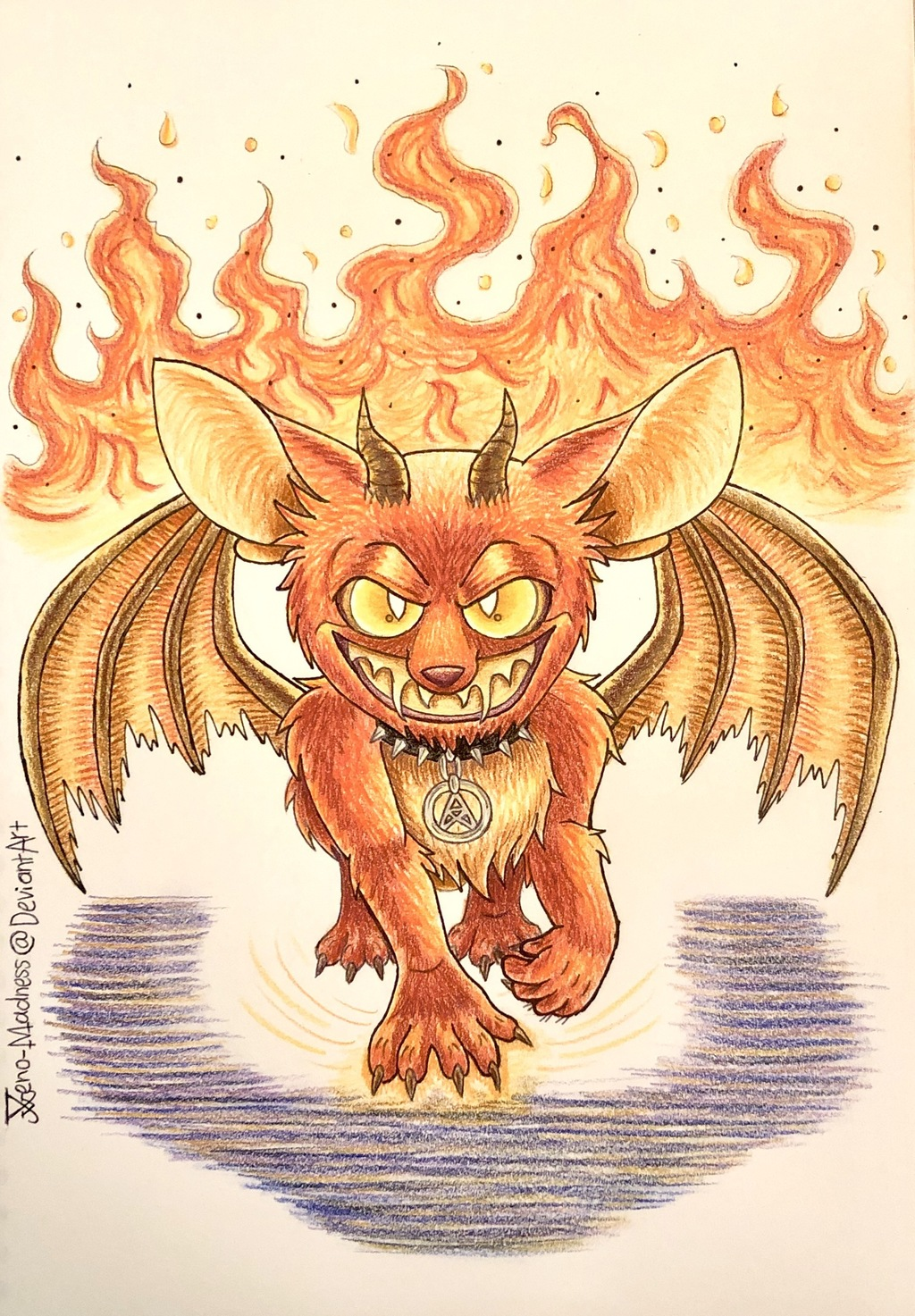Come forth the Demon in Fiery