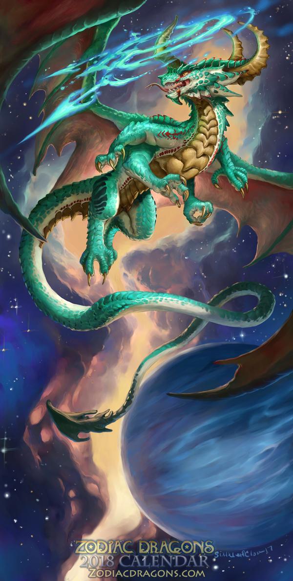 2018 The Fire Archer Zodiac Dragon Sagittarius — Weasyl