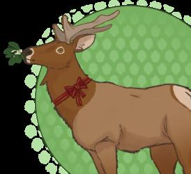Advent Art: Deer