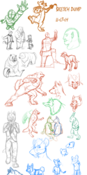 Ultimate Sketch Dump Huuuaaaaahhhhh