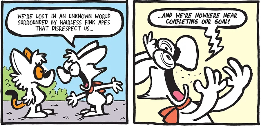 THE FUZZY PRINCESS (4-6-2020)