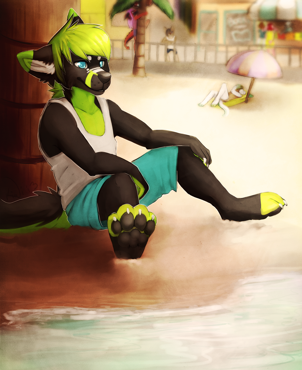 Most recent image: beach party