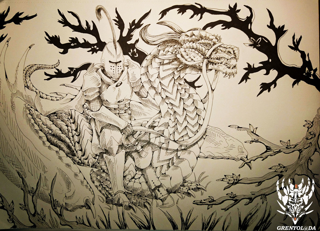 Most recent image: Dragon rider